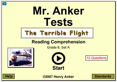 Mr  Anker Tests 6th Grade Activities