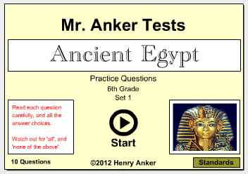 essay questions on ancient egypt Ancient egypt is a civilization that held a very unique culture that was separate from the ideas of other ancient civilizations intriguing artifacts that have been discovered over time help us to understand what it was like to have lived back then.