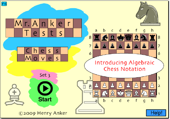 Mr  Anker Tests Chess Moves