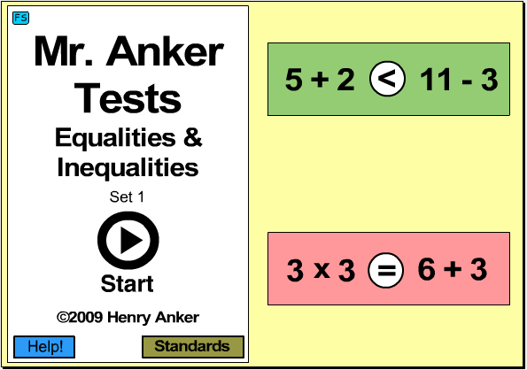 Mr Anker Tests Number Sense