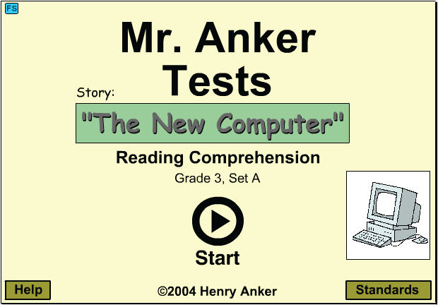 Mr  Anker Tests Reading Comprehension