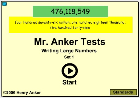 Mr Anker Tests 5th Grade Year Activities In Sequence